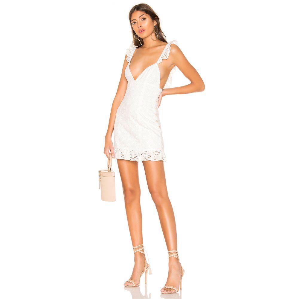 マジョレル MAJORELLE レディース ワンピース・ドレス ワンピース【Sunny Daze Dress】White