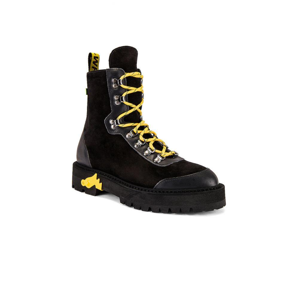 オフホワイト OFF-WHITE メンズ ハイキング・登山 ブーツ シューズ・靴【Hiking Boot】Black