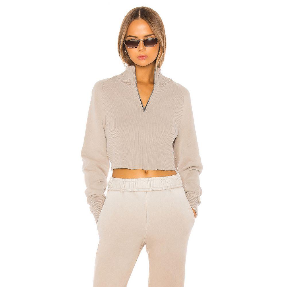 コットンシチズン COTTON CITIZEN レディース ニット・セーター トップス【Beijing Crop Sweater】Sand Dollar