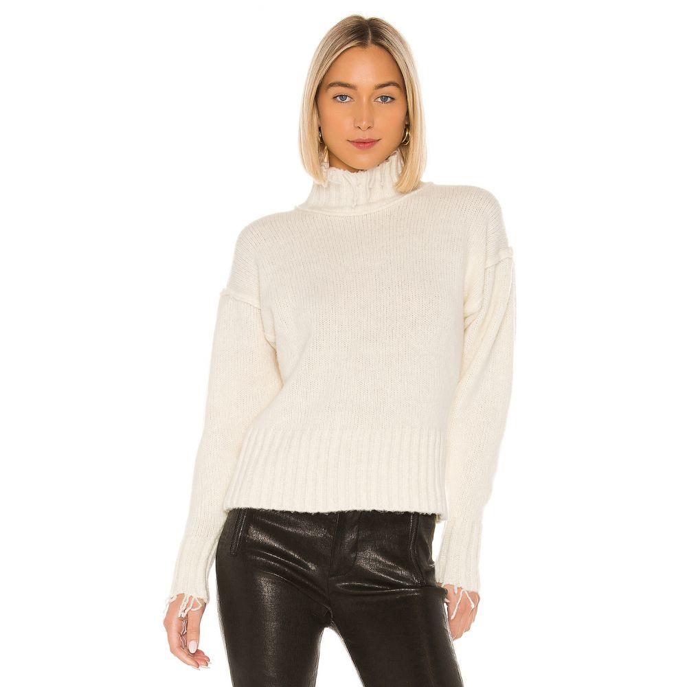 エヌエスエフ NSF レディース ニット・セーター トップス【Kori Turtleneck Sweater】Ivory