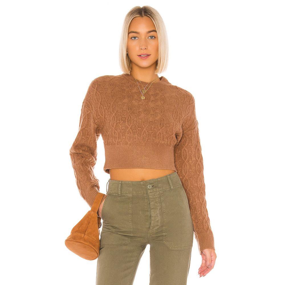 トゥラロサ Tularosa レディース ニット・セーター トップス【Macie Sweater】Brown