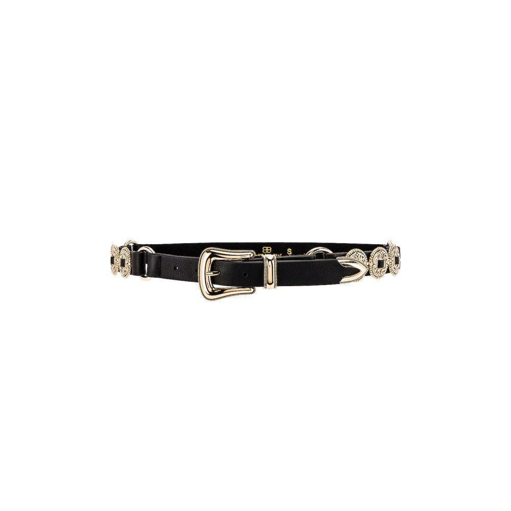 ビーローザベルト B-Low the Belt レディース ベルト 【Nikko Belt】Black/Gold