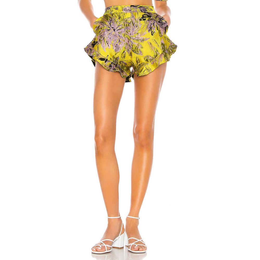 カミラ コエーリョ Camila Coelho レディース ショートパンツ ボトムス・パンツ【Corelida Short】Yellow Floral