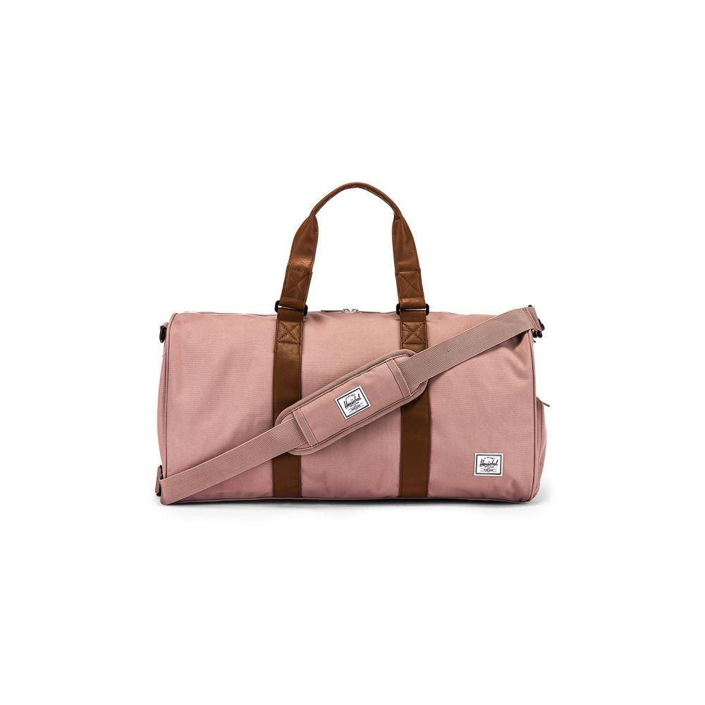 ハーシェル サプライ Herschel Supply Co. レディース ボストンバッグ・ダッフルバッグ バッグ【Novel Mid Volume Duffle Bag】Ash Rose/Tan