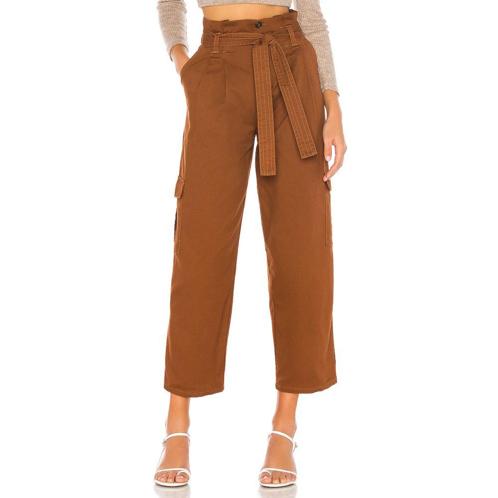 トゥラロサ Tularosa レディース ボトムス・パンツ 【Shae Pants】Brown