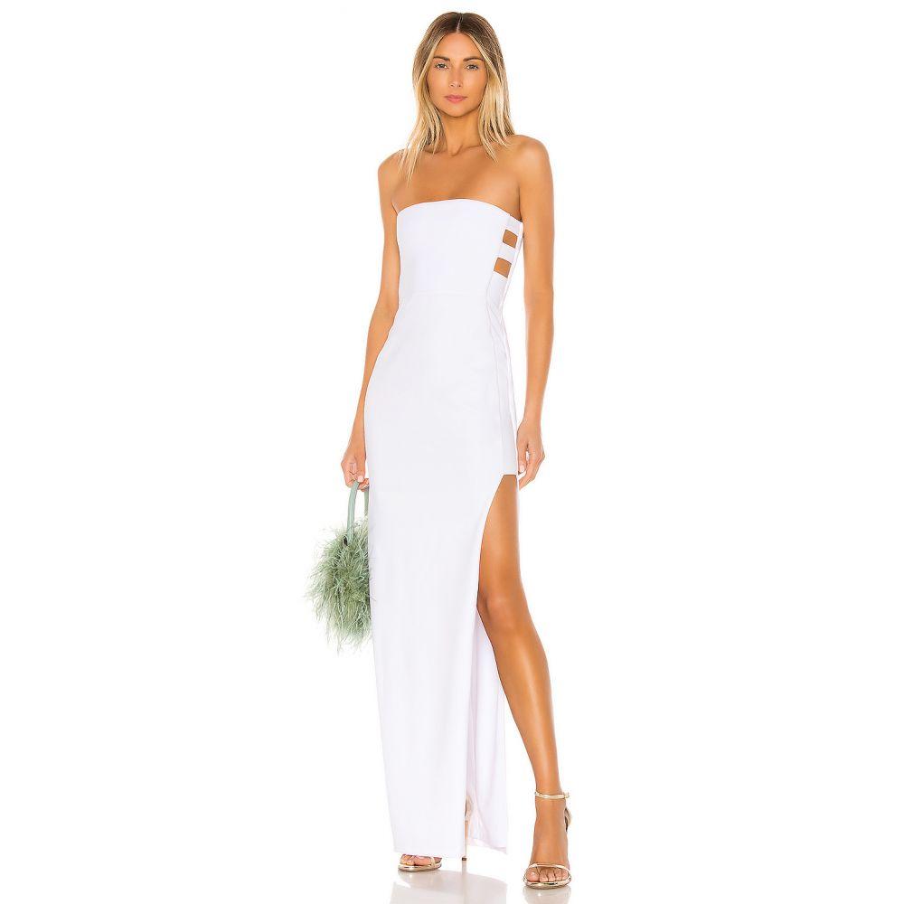 ノーキー Nookie レディース パーティードレス ワンピース・ドレス【Flaunt Gown】White