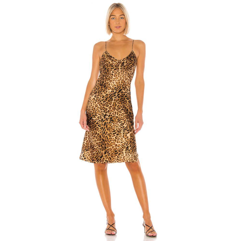 ニリ ロータン NILI LOTAN レディース ワンピース キャミワンピ ワンピース・ドレス【Short Cami Dress】Ginger Leopard Print