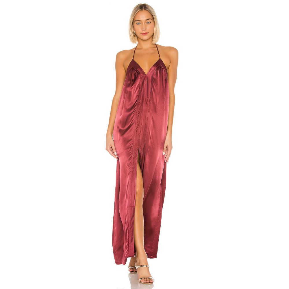 ハウスオブハーロウ1960 House of Harlow 1960 レディース ワンピース マキシ丈 ワンピース・ドレス【x REVOLVE Brynn Maxi Dress】Currant