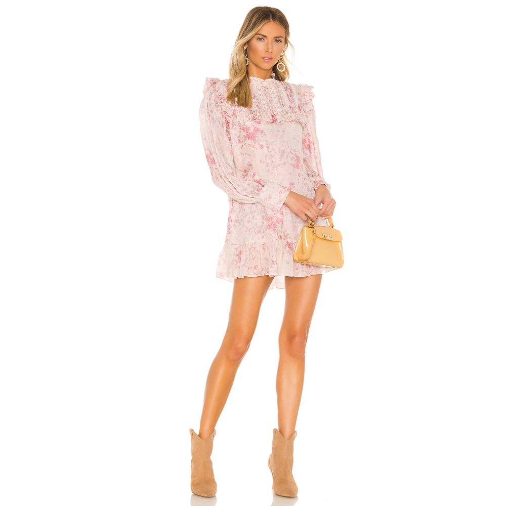 ラブシャックファンシー LoveShackFancy レディース ワンピース ワンピース・ドレス【Saffron Dress】Pink Flower Bed