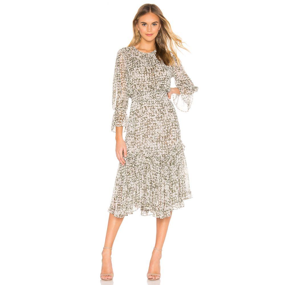 ミサロサンゼルス MISA Los Angeles レディース ワンピース ワンピース・ドレス【Laia Dress】Green Floral
