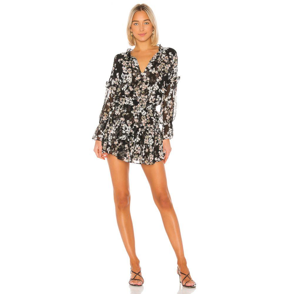 ミサロサンゼルス MISA Los Angeles レディース ワンピース ワンピース・ドレス【Lolita Dress】Black Ditsy Floral