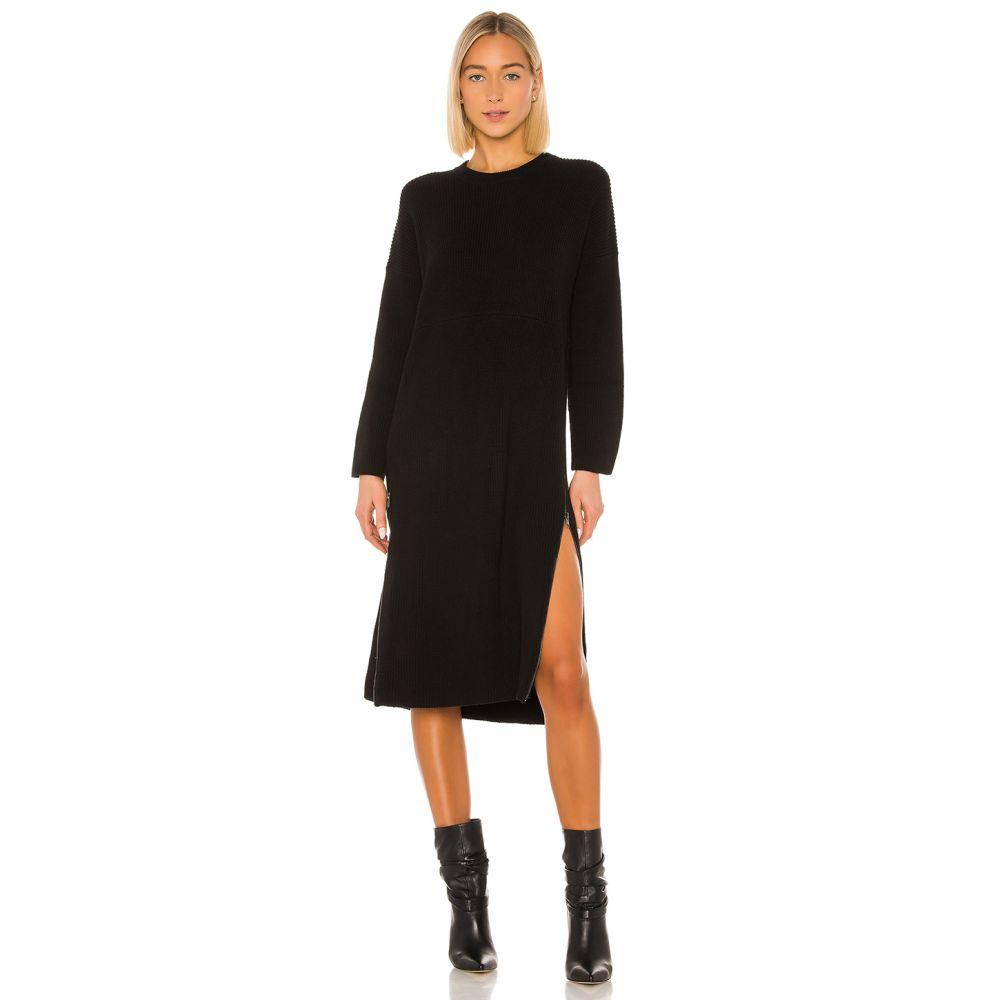 ワン ティースプーン One Teaspoon レディース ワンピース ワンピース・ドレス【Zip Knit Dress】Black