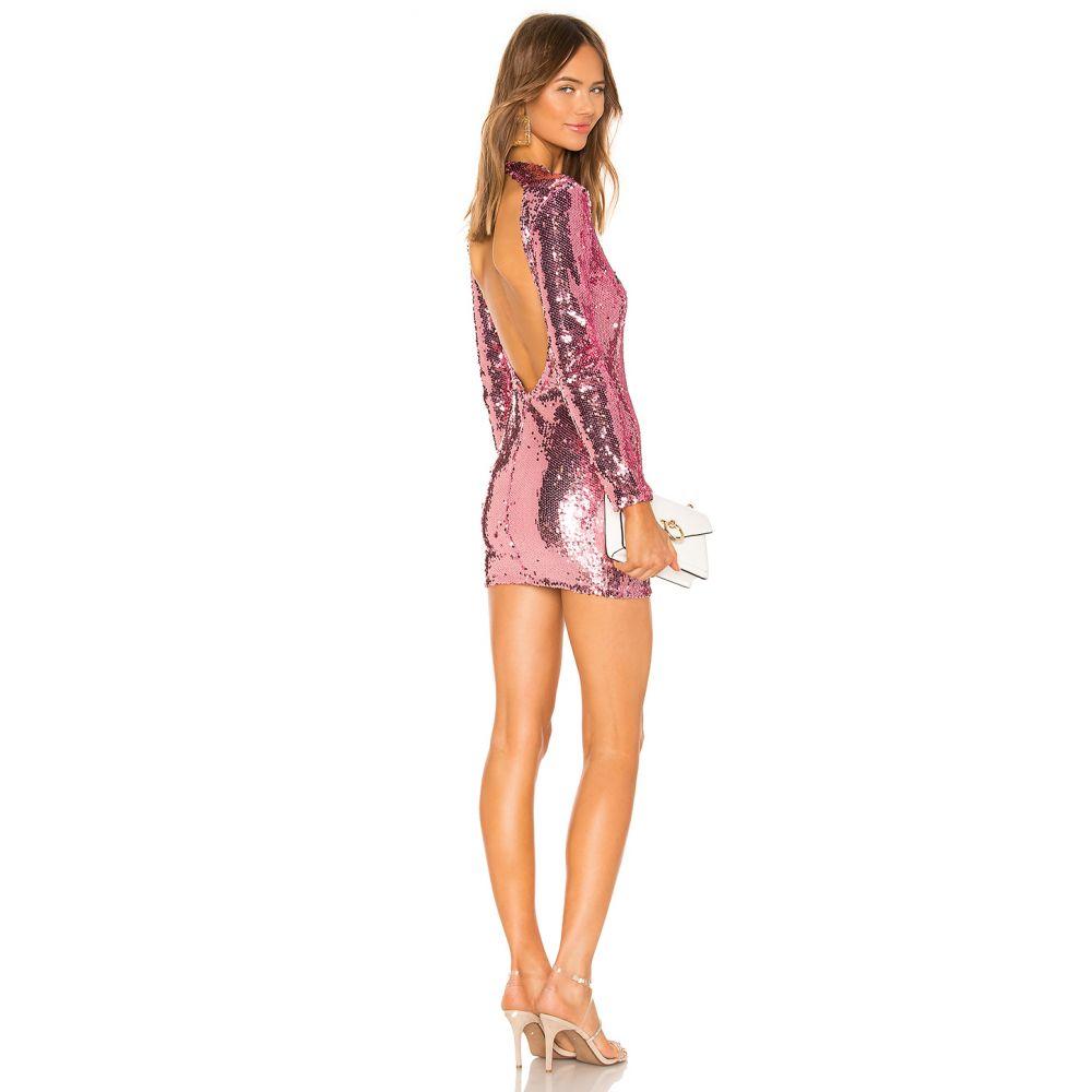 スーパーダウン superdown レディース ワンピース ミニ丈 ワンピース・ドレス【Cindi Sequin Mini Dress】Pink
