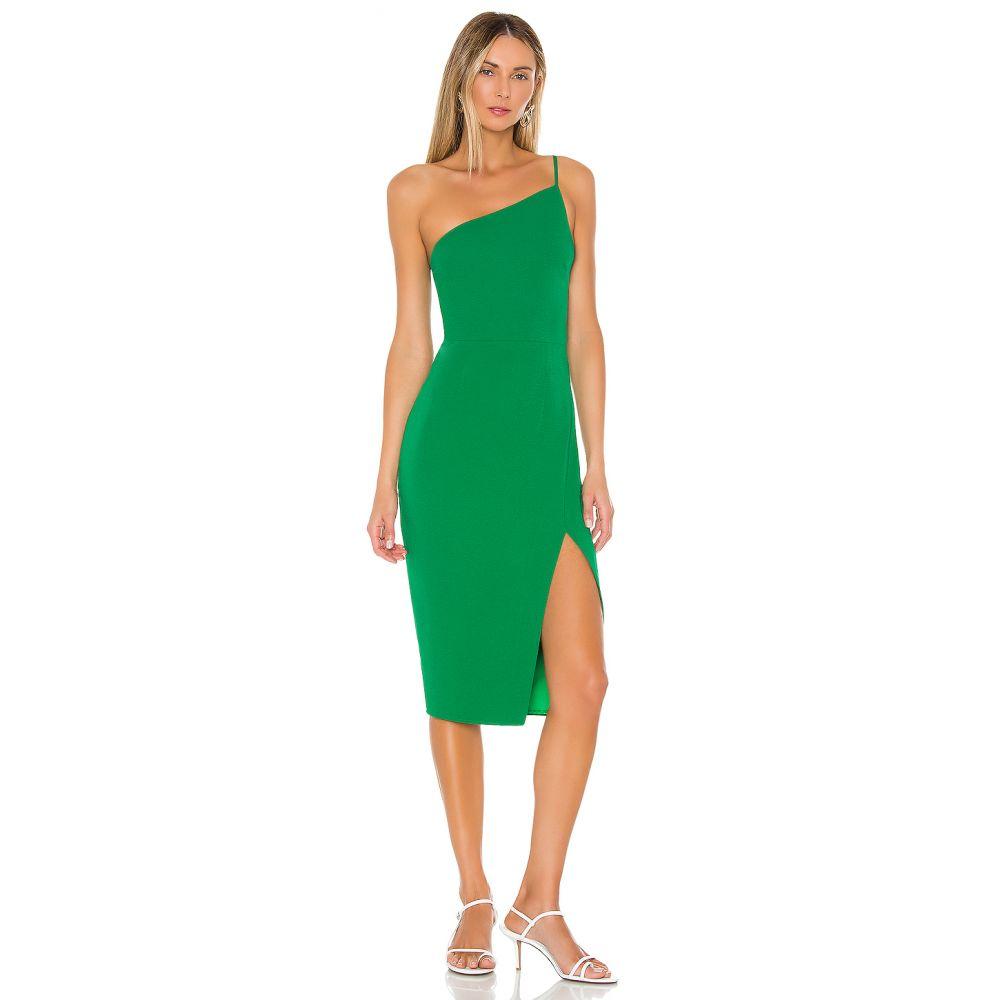 ラヴァーズフレンズ Lovers + Friends レディース ワンピース ミドル丈 ワンピース・ドレス【Lazo Midi Dress】Green