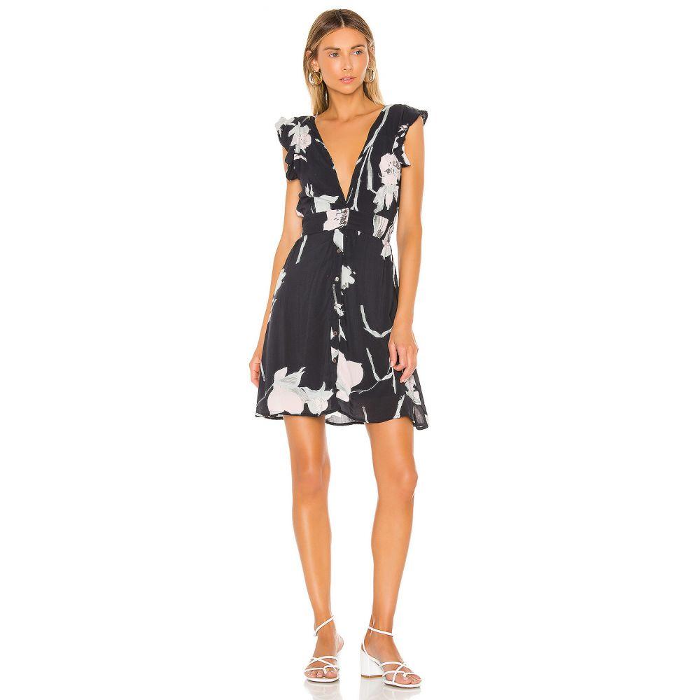 マージ Maaji レディース ワンピース ミニ丈 ワンピース・ドレス【Canadian Goldenrod Mini Dress】Black Floral