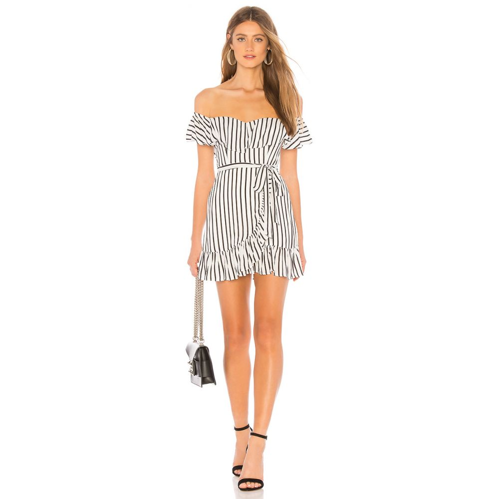 プライバシー プリーズ Privacy Please レディース ワンピース ミニ丈 ワンピース・ドレス【Bellview Mini Dress】Black/White