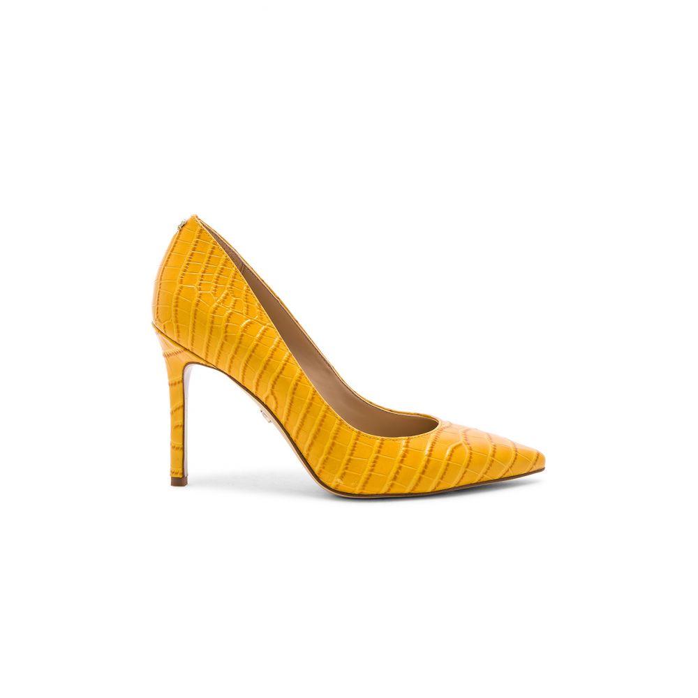 サム エデルマン Sam Edelman レディース ヒール シューズ・靴【Hazel Heel】Yellow Crocco