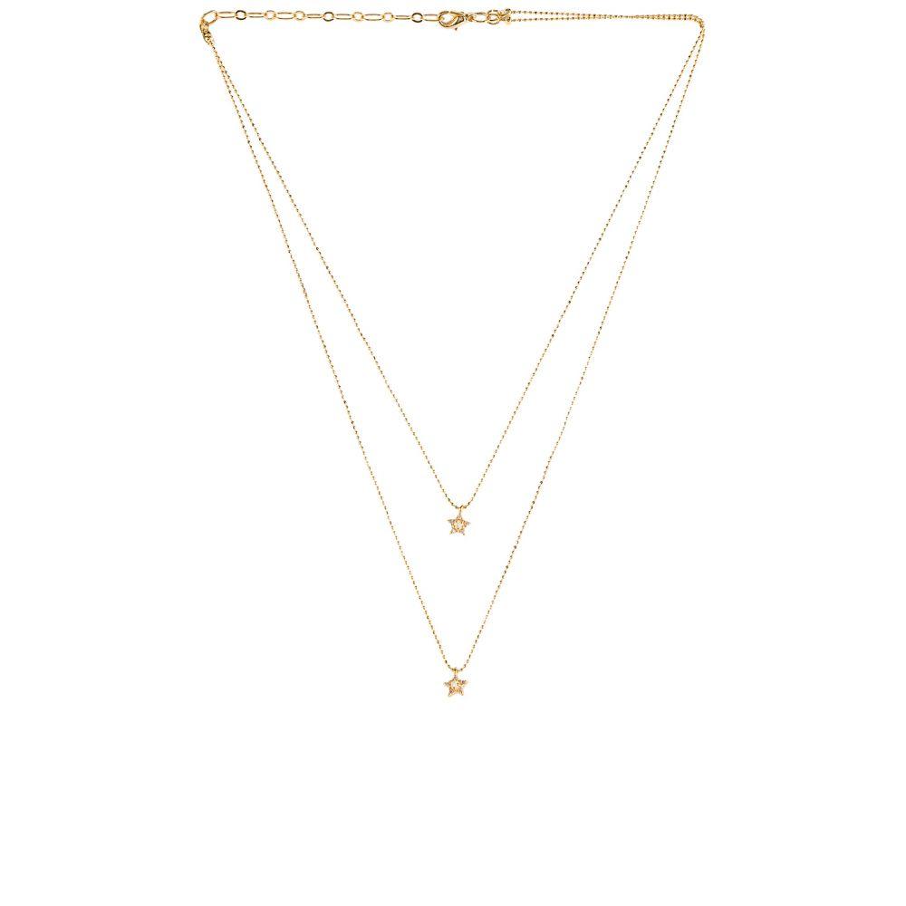 ファイブアンドトゥー Five and Two レディース ネックレス ジュエリー・アクセサリー【Birdie Necklace】Gold/Opal