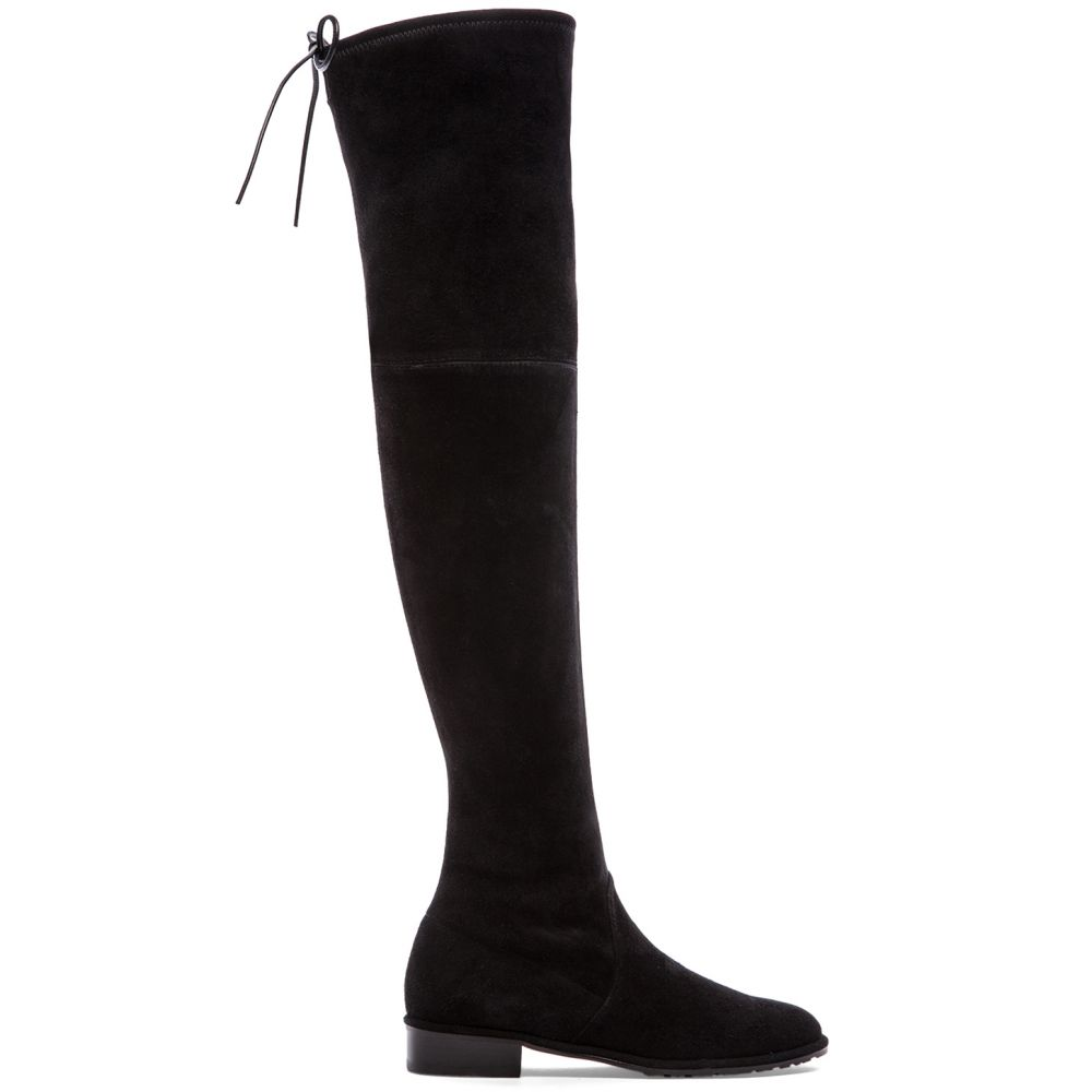 スチュアート ワイツマン Stuart Weitzman レディース ブーツ シューズ・靴【Lowland Boot】Black Suede
