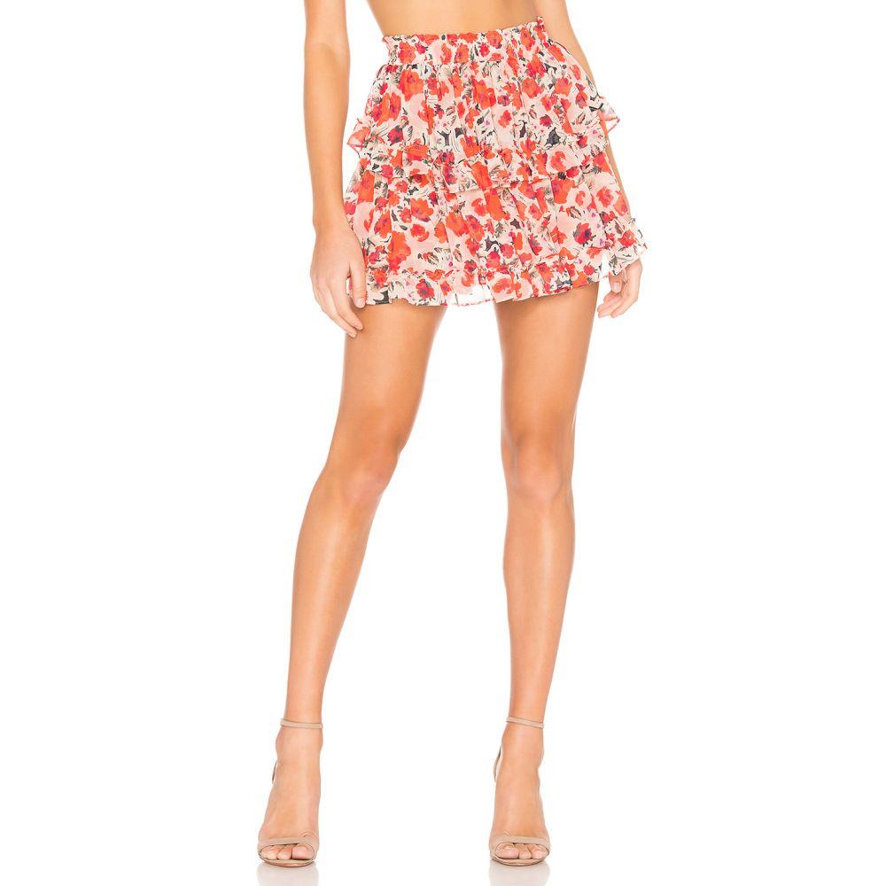 ミサロサンゼルス MISA Los Angeles レディース スカート 【Manya Skirt】Red Floral