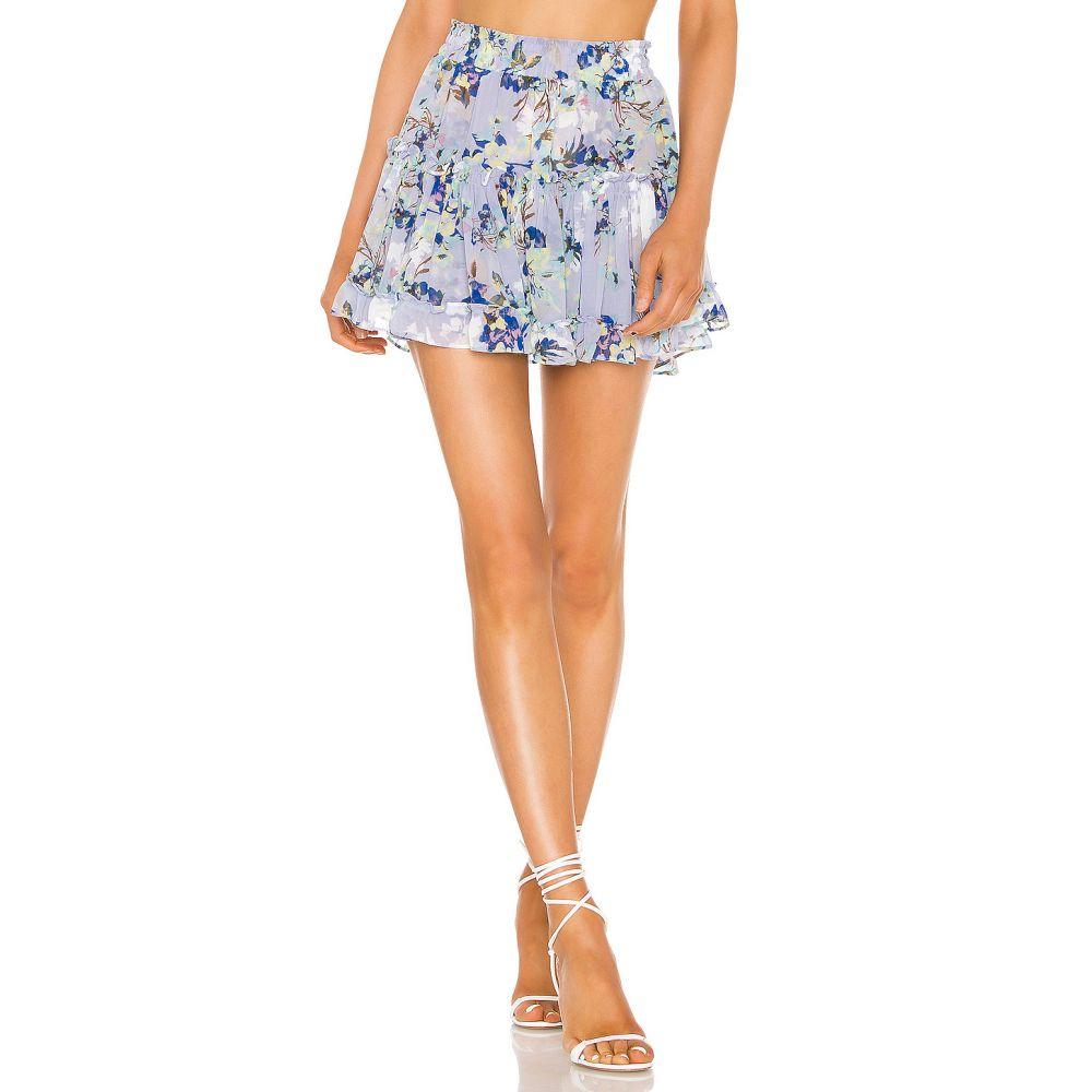 ミサロサンゼルス MISA Los Angeles レディース スカート 【X REVOVLE Marion Skirt】Periwinkle Floral