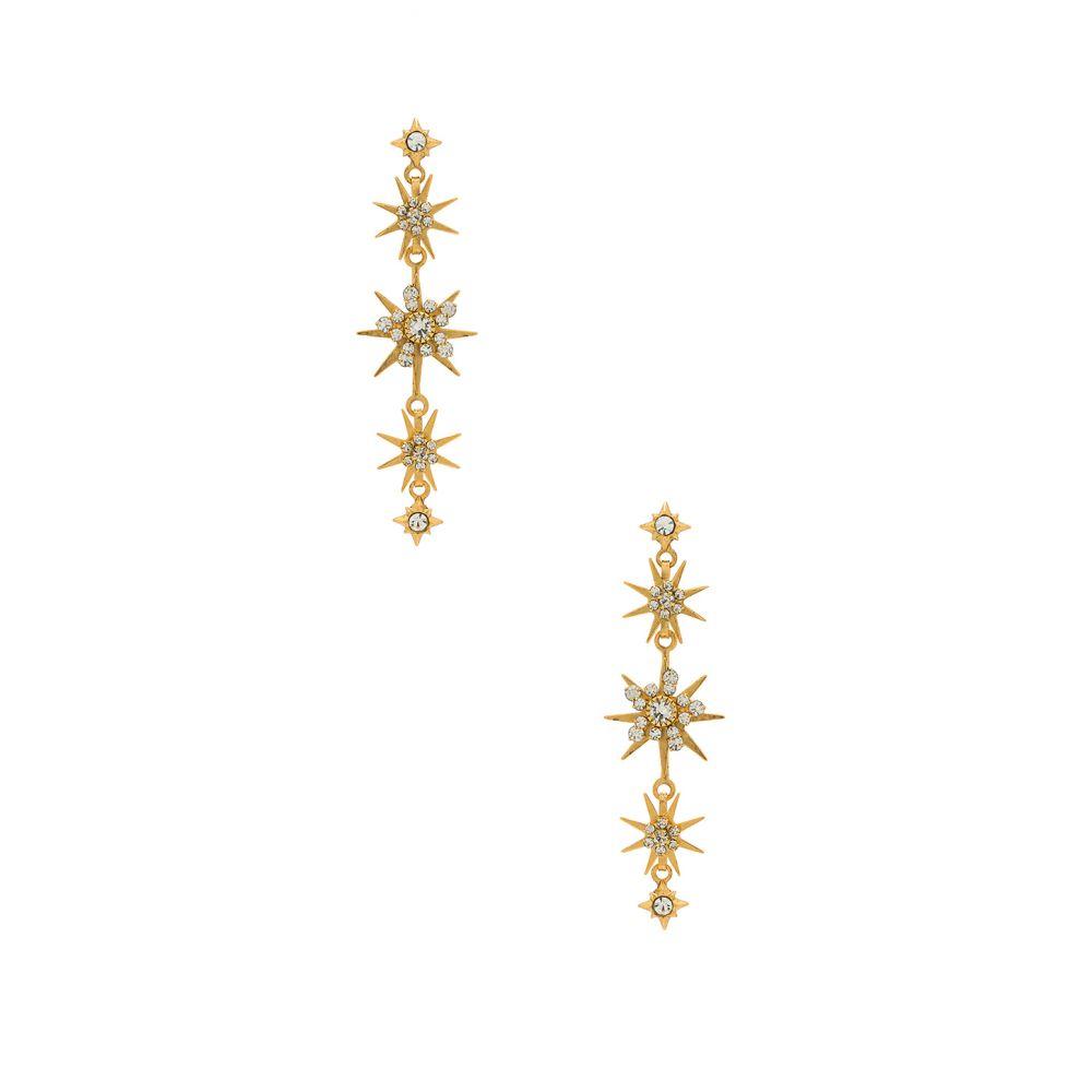 エリザベス コール Elizabeth Cole レディース イヤリング・ピアス ジュエリー・アクセサリー【Gilda Earring】Celestial Gold
