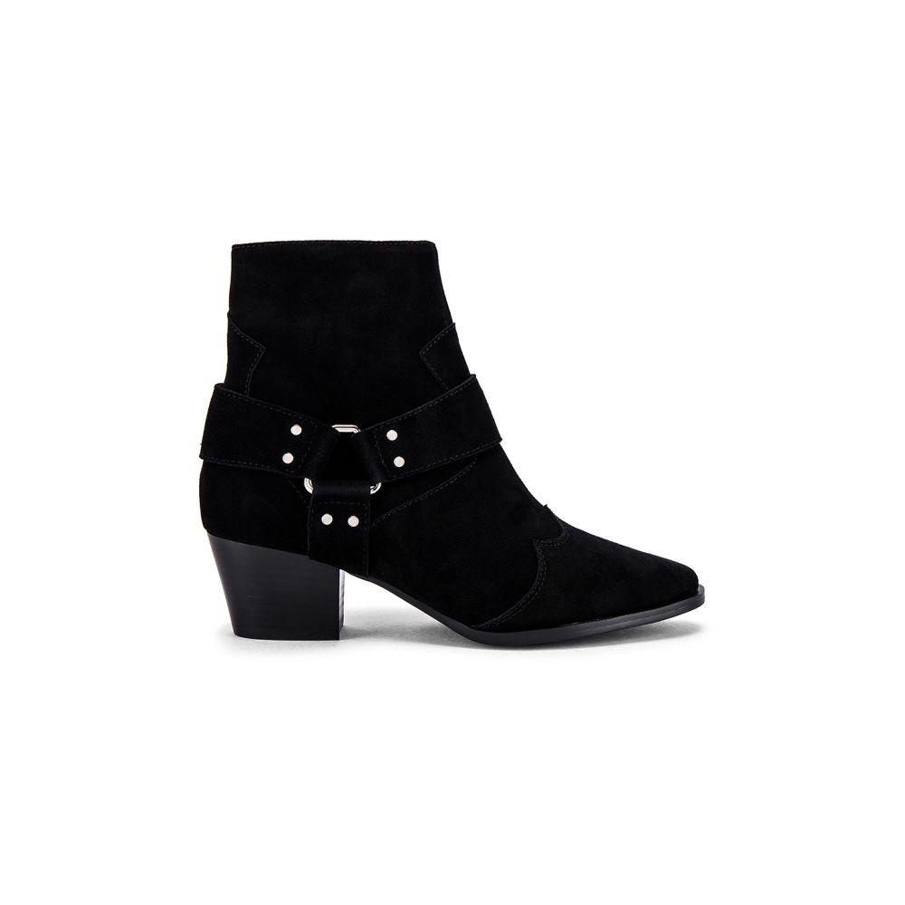 カバーレイ Caverley レディース ブーツ シューズ・靴【Ula Boot】Plain Black Suede