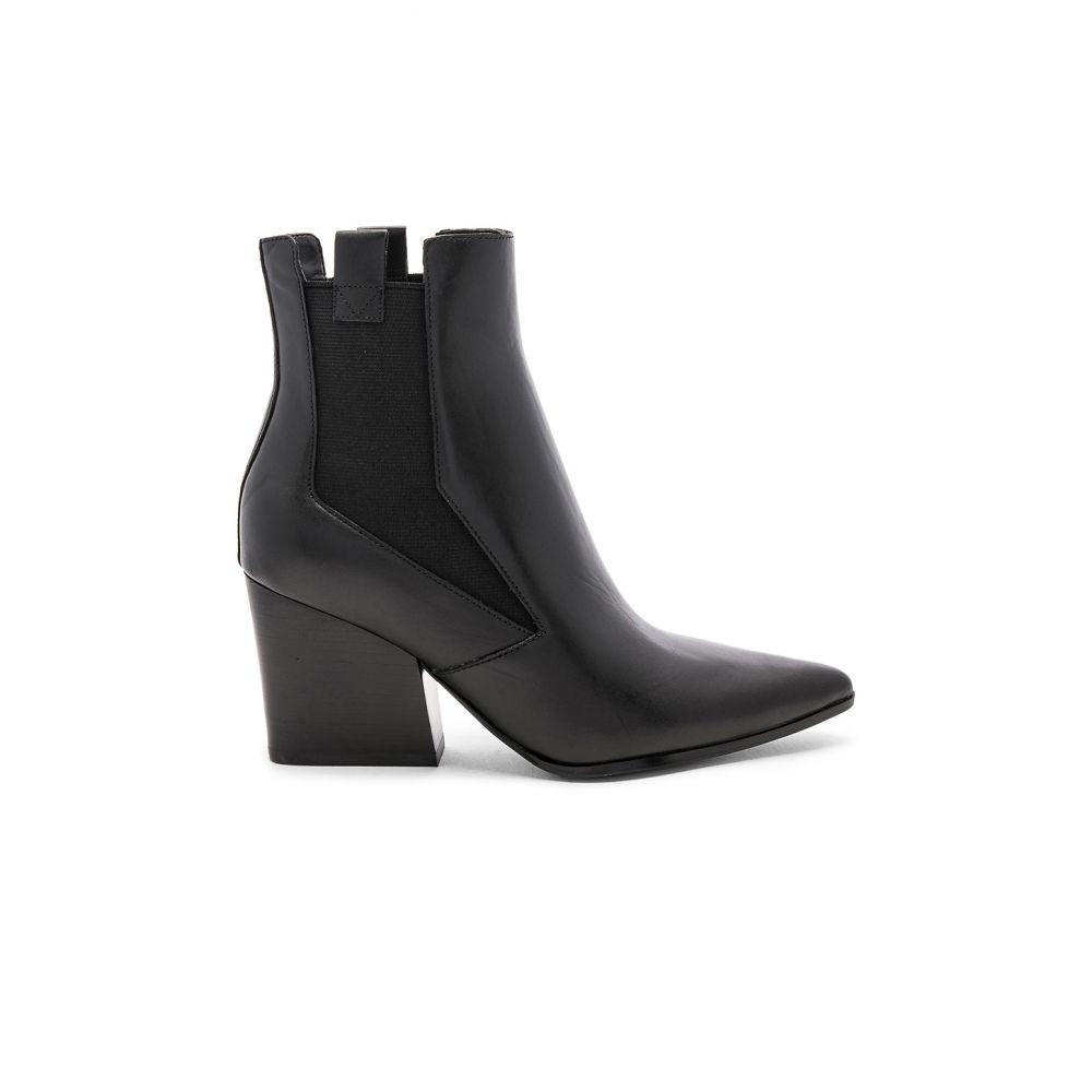 ケンダル&カイリー KENDALL + KYLIE レディース ブーツ シューズ・靴【Finigan Boot】Black Leather