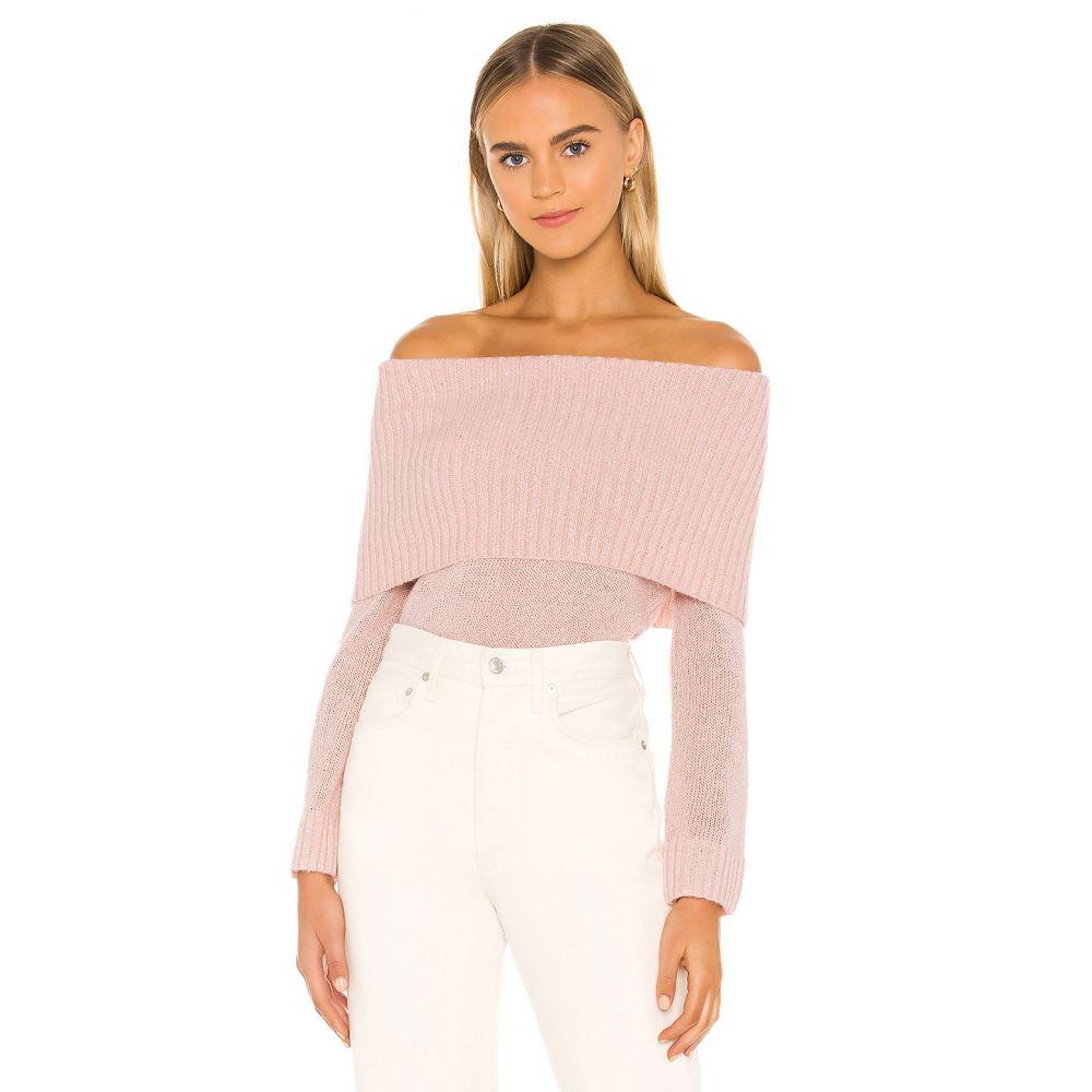 マジョレル MAJORELLE レディース ニット・セーター トップス【Pamela Sweater】Light Pink