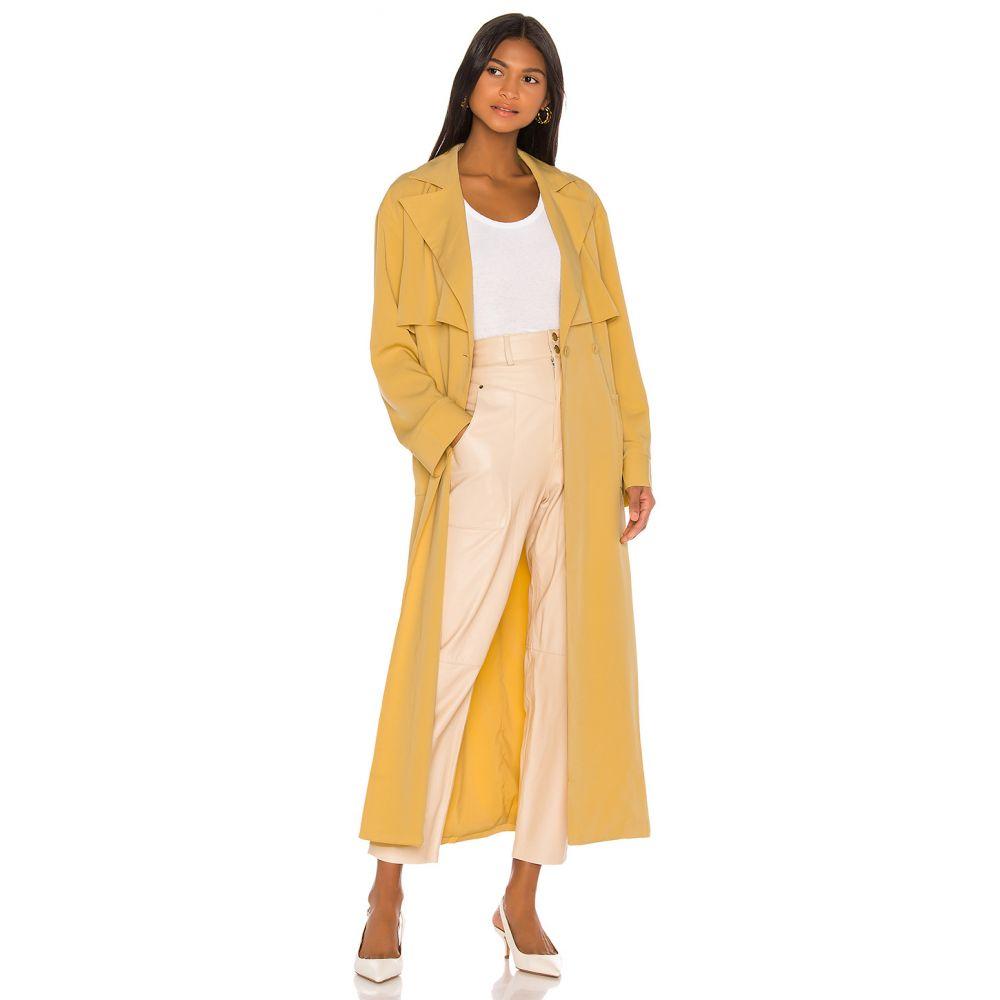 ソング オブ スタイル Song of Style レディース トレンチコート アウター【Hugo Trench Coat】Autumn Yellow
