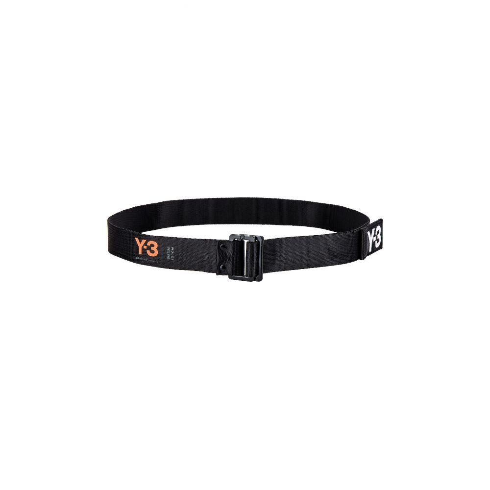 ワイスリー Y-3 Yohji Yamamoto メンズ ベルト 【Logo Belt】Black