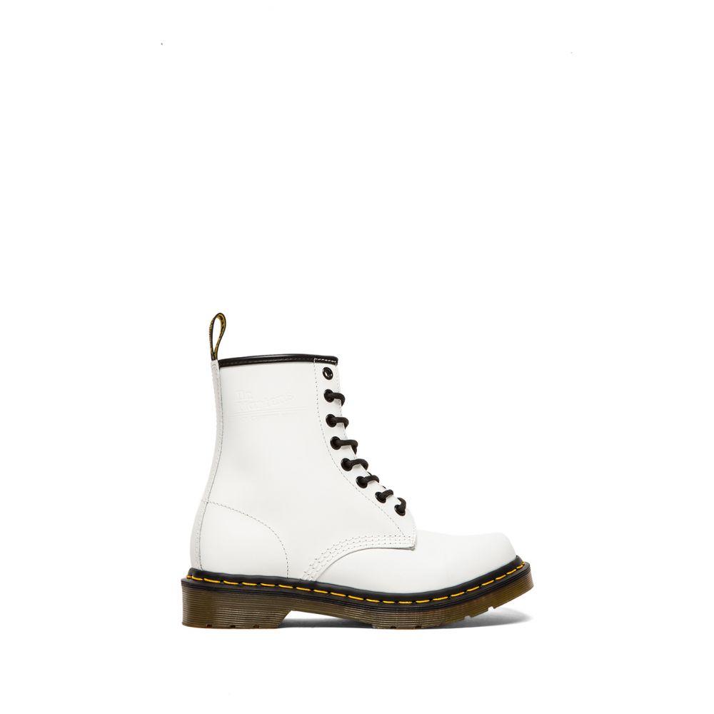 ドクターマーチン Dr. Martens レディース ブーツ シューズ・靴【1460 8 Eye Boot】White