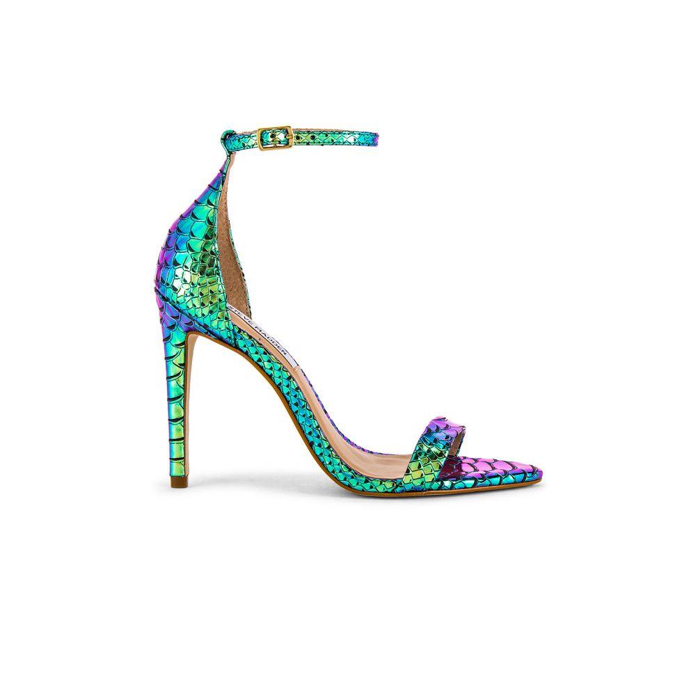 スティーブ マデン Steve Madden レディース ヒール ピンヒール シューズ・靴【Sane Stiletto】Turquoise Snake