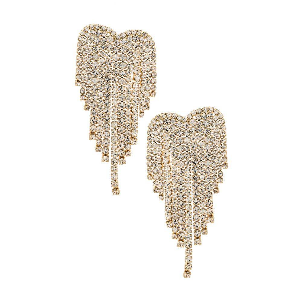 エティカ Ettika レディース イヤリング・ピアス ジュエリー・アクセサリー【Crystal Earrings】Gold