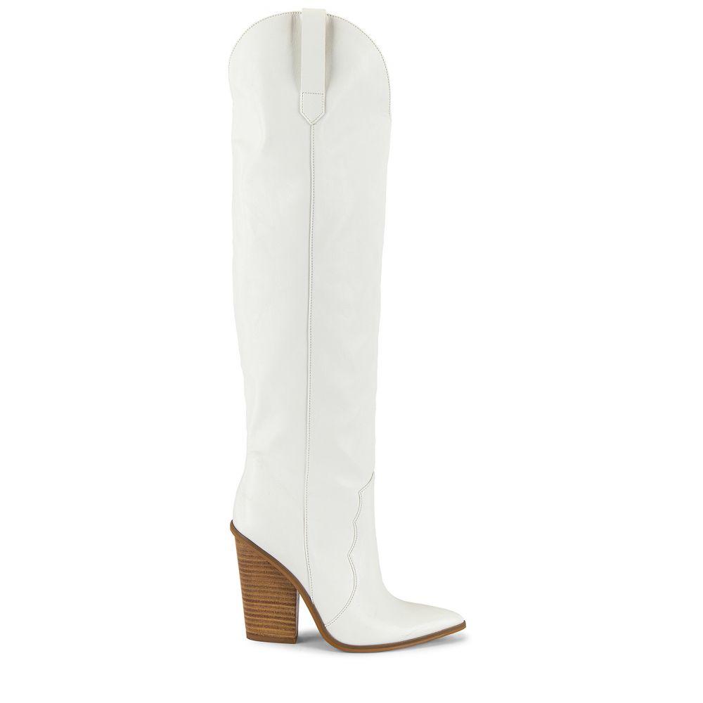 スティーブ マデン Steve Madden レディース ブーツ シューズ・靴【Ranger Boot】White Leather