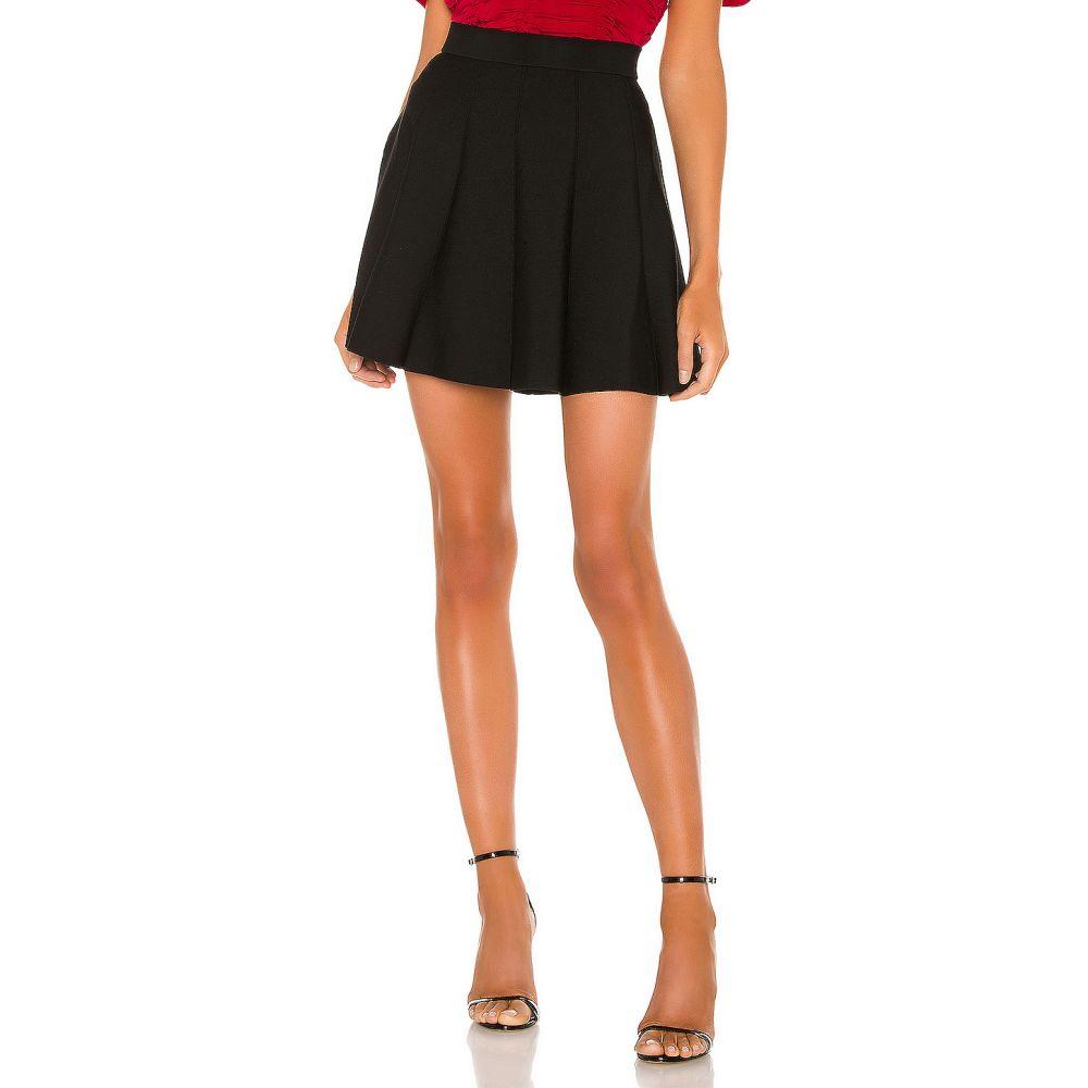 パーカー Parker レディース スカート 【Zoey Knit Skirt】Black