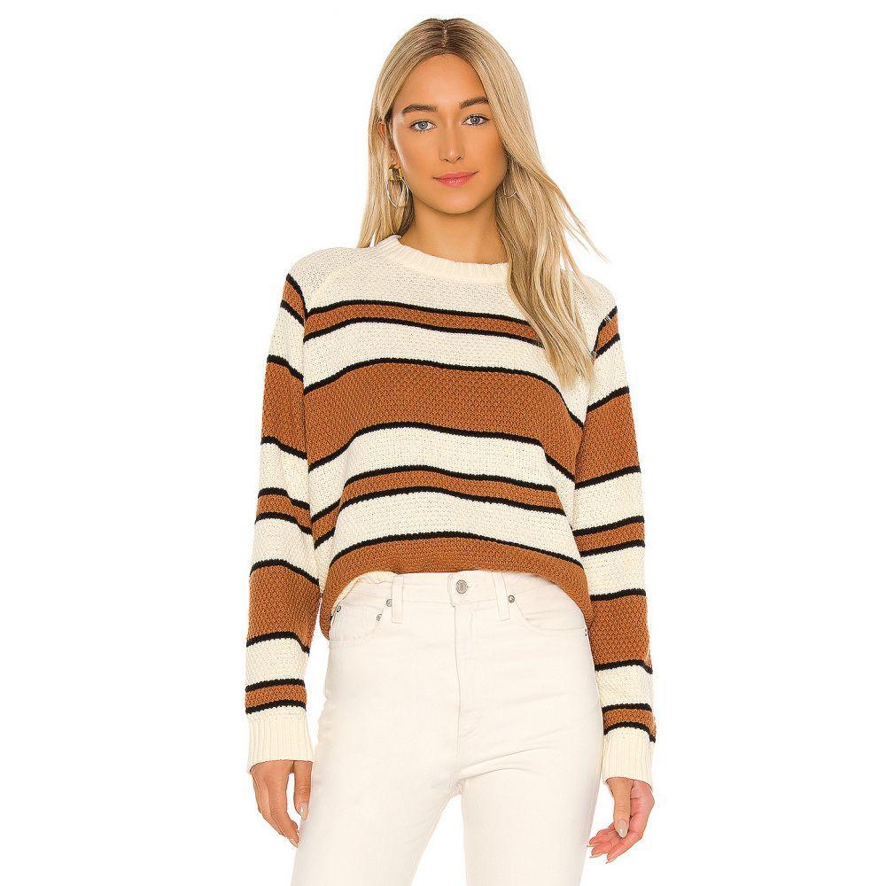 ザグレイト The Great レディース ニット・セーター トップス【The Dune Sweater】Sweet Tea Stripe
