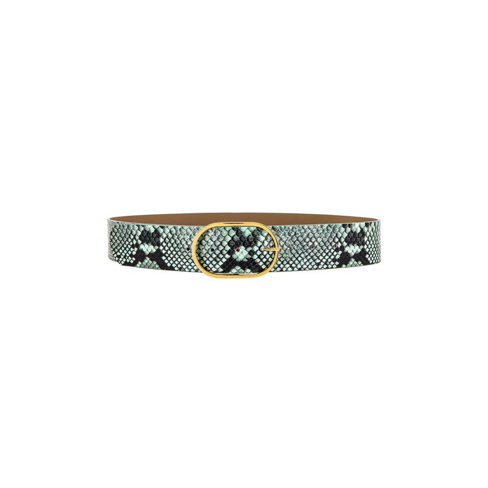 ビーローザベルト B-Low the Belt レディース ベルト 【Emmie Python Belt】Mint/Gold