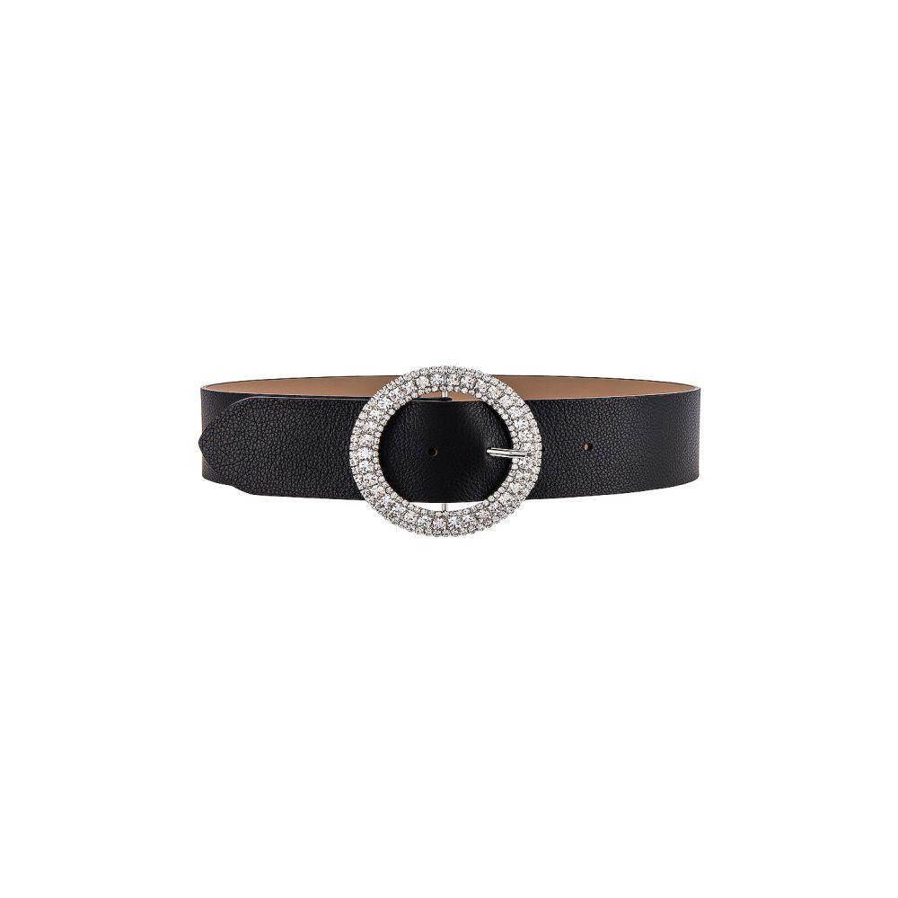 ビーローザベルト B-Low the Belt レディース ベルト 【Clara Belt】Black/Silver