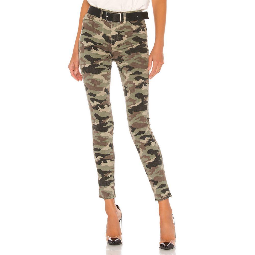 ハドソンジーンズ Hudson Jeans レディース クロップド ボトムス・パンツ【Barbara High Waist Super Skinny Ankle】Worn Camo