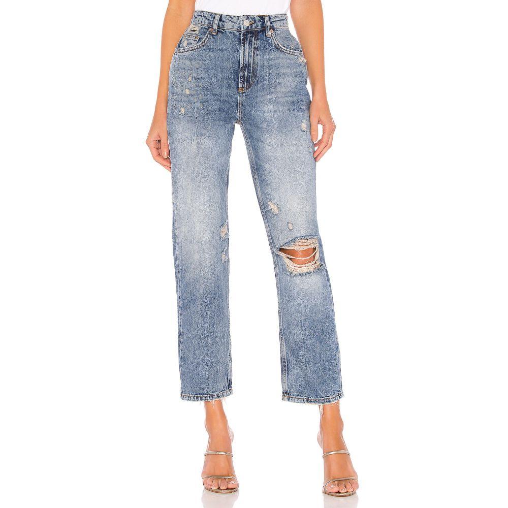 フリーピープル Free People レディース ジーンズ・デニム ボトムス・パンツ【Dakota Straight Leg Jean】Indigo Blue