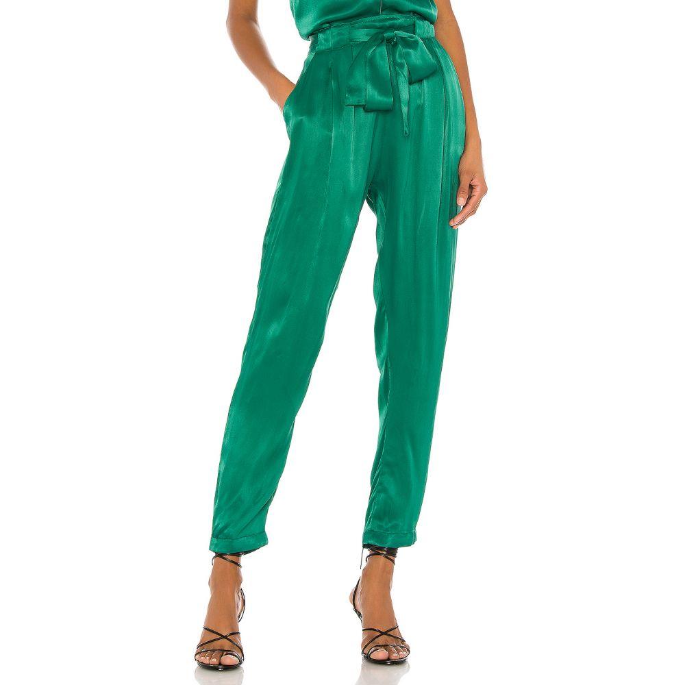 インダー Indah レディース ボトムス・パンツ 【Agent Tapered Pocket Trouser】Emerald