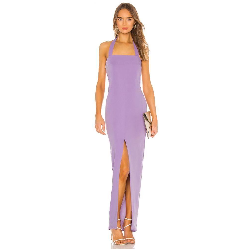 ラヴァーズフレンズ Lovers + Friends レディース パーティードレス ワンピース・ドレス【Rossi Gown】Lilac Purple