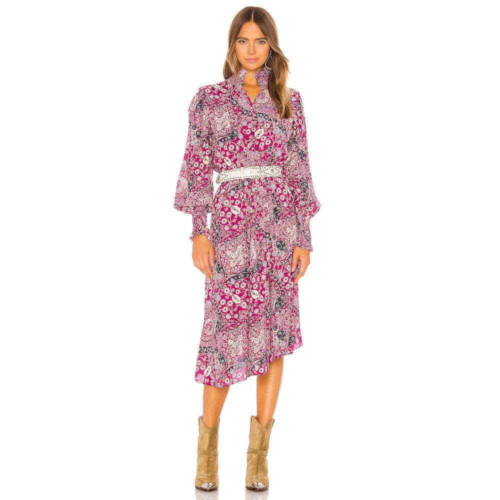 イザベル マラン Isabel Marant Etoile レディース ワンピース ワンピース・ドレス【Cescott Dress】Fuchsia