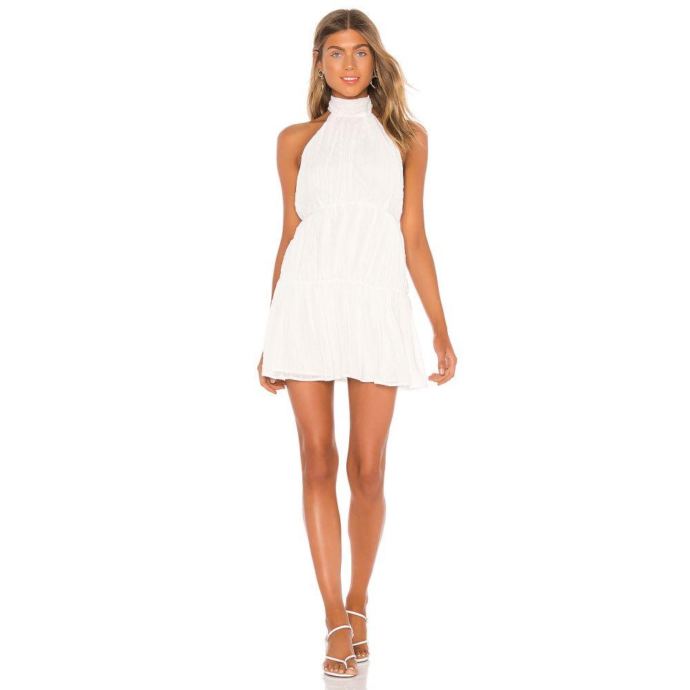 ラヴァーズフレンズ Lovers + Friends レディース ワンピース ミニ丈 ワンピース・ドレス【Barry Mini Dress】White