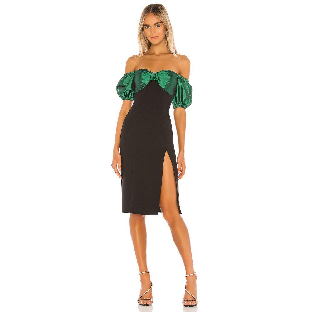 ソング オブ スタイル Song of Style レディース ワンピース ミドル丈 ワンピース・ドレス【Beth Midi Dress】Green/Black