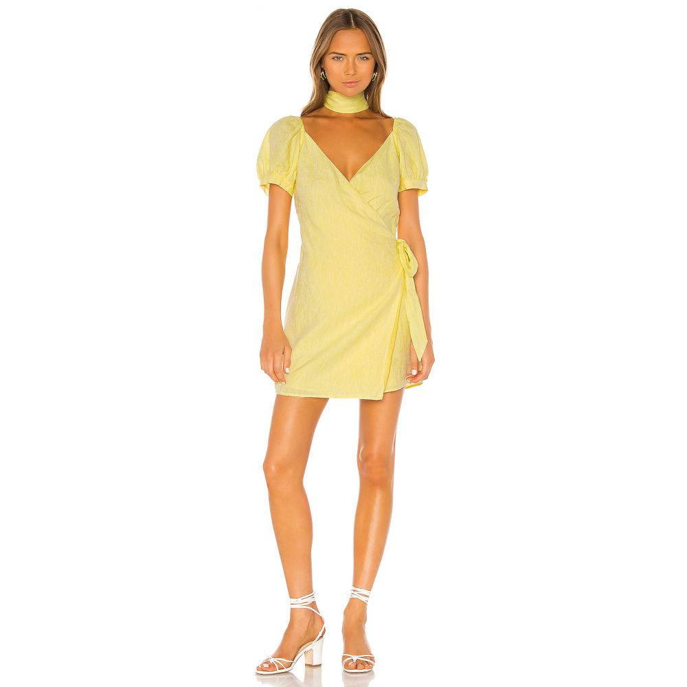 エルピーエー LPA レディース ワンピース ワンピース・ドレス【Gionna Dress】Butter Yellow
