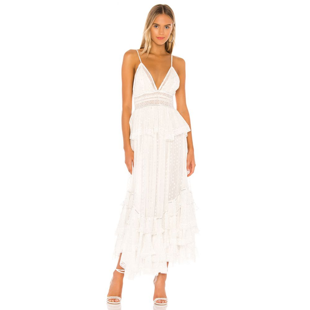 ロココ ROCOCO SAND レディース ワンピース ワンピース・ドレス【Elna Dress】Off White