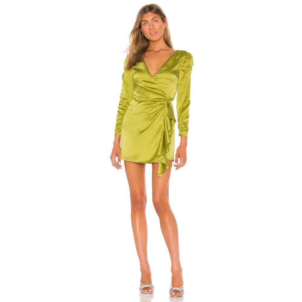 ソング オブ スタイル Song of Style レディース ワンピース ミニ丈 ワンピース・ドレス【Dala Mini Dress】Moss Green