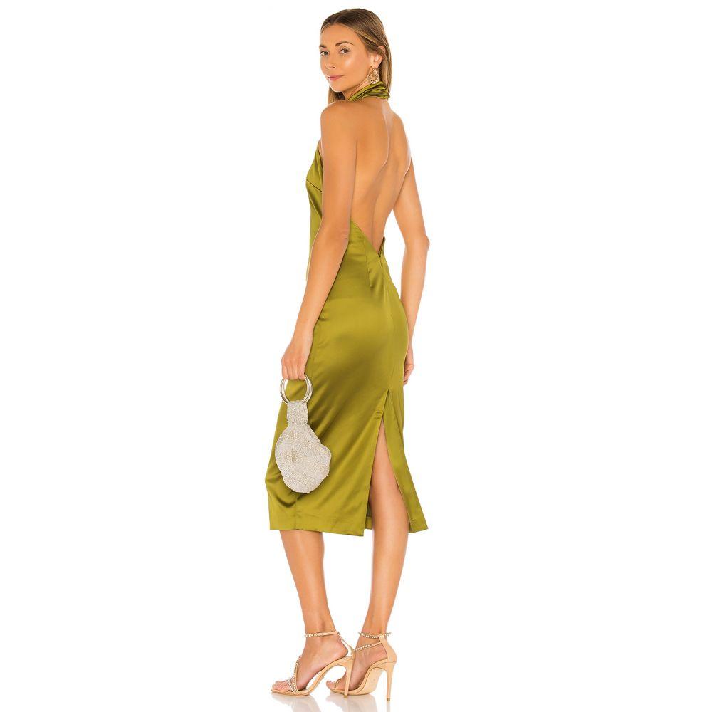 エヌビーディー NBD レディース ワンピース ミドル丈 ワンピース・ドレス【Lexis Midi Dress】Edamame Green